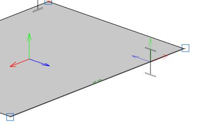 CYPE 3D. Interacción Lámina – Barra en arista