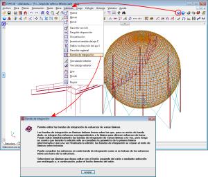 CYPE 3D. Láminas. Introducción de datos. Ayuda sobre opciones